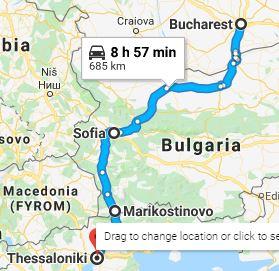 Εβδομαδιαίες φορτώσεις Ρουμανία – Βουλγαρία – Ελλάδα